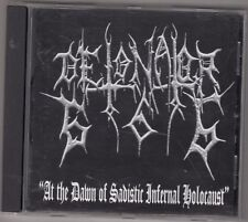 DETONATOR666 - at the dawn of sadistic infernal holocaust CD