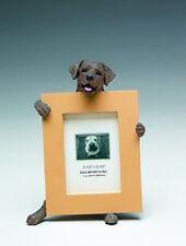 """LABRADOR RETRIEVER (CHOCOLATE) DOG PHOTO PICTURE FRAME FIGURINE 2-1/2"""" X 3-1/2"""""""