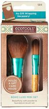 Ecotools Boho Mini Make Up Brush Set makeup art , bronzer/blush brush pack of 2