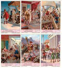 "Liebig Bilder Serie 1131 ""Kaiser Augustus"""