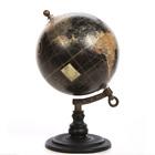 Table Top World Globe Black Decorative Desk Decor Tabletop Display Small 5 Inch