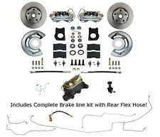 1964 65 66 Mustang Front Disc Brake Conversion & Pre-Bent Brake Line Kit