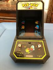 New Listing1981 Coleco Midway Pac-Man Mini Table Top Arcade Game Works!