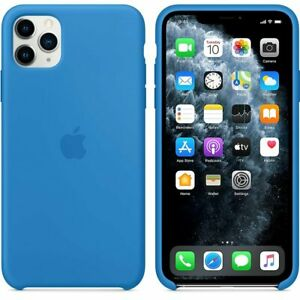 Official Apple Silicone Case for iPhone 11 Pro Max smart mobile phone cover skin