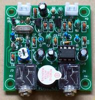 Assembled HAM RADIO 40M CW HF QRP Pixie Transmitter Receiver 7.023-7.026MHz 4.1