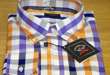 New Paul & Shark casual Shirt Unique size 3XL superb quality Stunning Color WOW!