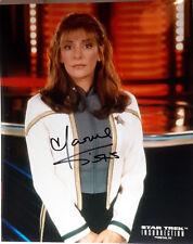 STAR TREK Insurrection Autograph Marina Sirtis/Troi Signed 8x10 Photo (LHAU-050)