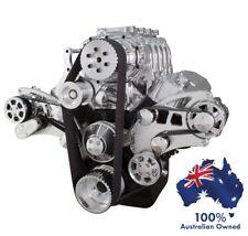 CHEVY BBC 396-427-454 SUPERCHARGER ENGINE SERPENTINE KIT AC+PWR/STR+ALT ALL INC