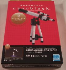 Kawada nanoblock ASTRONOMICAL TELESCOPE -japan building toy block  NEW NBC_241