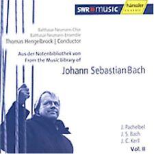 Bach - From the Music Library of THOMAS HENGELBROCK Balthasar-Naumann Chor OVP