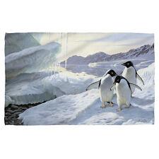 """Wild Wings Penguins Licensed Beach Towel 30"""" x 60"""""""