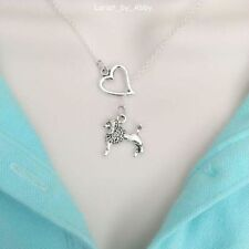 I Love My French Poodle Lariat Style Y Necklace.