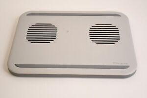 Targus Dual Fan Lap Gray Rectangular Chill Mat Cooling System PA248U1 Item#: 01