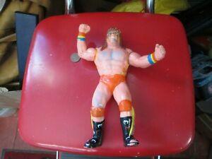 1989 WWF Grand Toys Wrestling Figure ULTIMATE WARRIOR RARE BLACK CARD WRESTLER