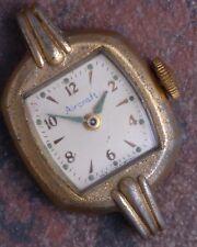 Aircraft 50s Vintage Westclox Scotland Art Deco Ladies Watch Ticks Parts/Restore