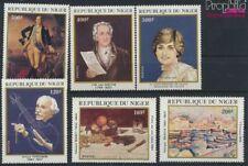 Niger 784-789 (compleet Kwestie) postfris MNH 1982 Verjaardagen (9264875