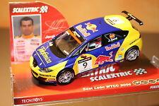"Slot SCX Scalextric 6235 Seat León WTCC 2006 ""Gené"" Nº9 New"