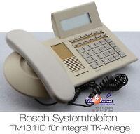 ISDN TELEFON SYSTEMTELEFON BOSCH TM13.11D TENOVIS FÜR INTEGRAL 33 /55 TM 13.11 D