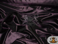 """Taffeta Solid Fabric PLUM / 58"""" Wide / Sold by the yard"""