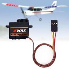 Durable 1 Pc EMax ES08A II 9Gram Mini Micro Shock proof Servo for 3D RC Plane SA