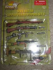 1/6 Ultimate Soldier  WW2 British Commonwealth Weapons Set 2, Owen SMG, Enfield