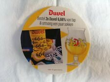 BR. MOORTGAT - DUVEL 6,66  //NIEUW bierviltje - coaster EXPORT NL