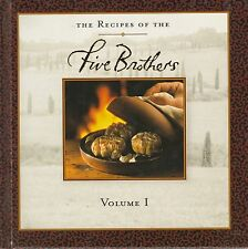 The Recipes of the Five Brothers Cookbook Volume 1 Hardcover Very Good