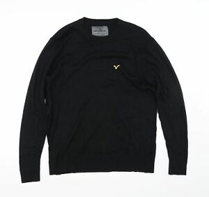 Voi Jeans Mens Black   Pullover Jumper Size M