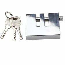 Stainless Steel Auto Anti-Theft Device 8Holes Brake Strong Security Lock Tool