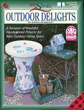 Outdoor Delights Decorative One Stroke Book by Donna Dewberry NEW