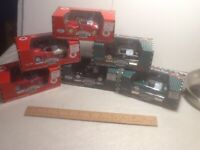 A - Gearbox  Texaco Sky Chief Model Cars Lot of 6 Chain Pedal Ford Coupe Chevy