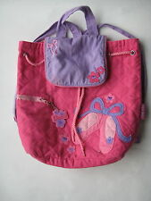 Stephen Joseph Ballet Shoes girl BACKPACK school dance gear ballerina travel bag