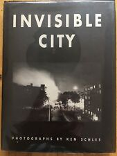 SIGNED Ken Schles Invisible City 1988 1 Of 2000 Copies NF/NF & Mylared