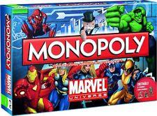 Monopoly MARVEL universe jeu de plateau x-men the Avengers spiderman Ironman allemand