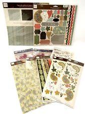 Bulk Lot #41 Heidi Grace Maple Crest Ct. Paper Stickers Die-Cuts total 550 pcs