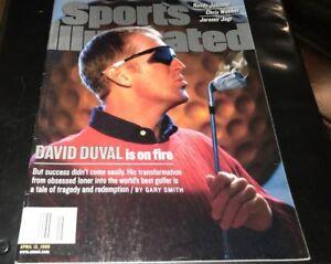 David Duval PGA Golf Newstand Sports Illustrated Full Magazine April 12 1999