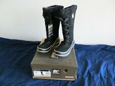 SOREL WOMEN'S TIVOLI HIGH II WINTER BLACK SUEDE WATERPROOF INSULATED BOOT  NEW!
