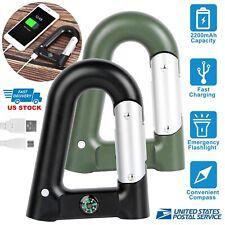 2200mAh Backup External Battery USB Power Bank Pack Charger Flashlight for Phone
