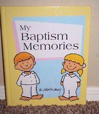 My Baptism Memories By Val Chadwick Bagley Journal Keep Sake Book LDS Mormon