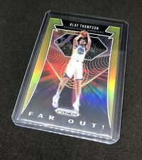 2019-20 Klay Thompson Panini Prizm Far Out Gold /10 Golden State