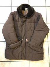 Refrigiwear Mens Vintage Parka Jacket Coat Brown Size Large