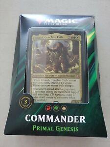 Magic: the Gathering Commander 2019 Primal Genesis Deck MTG