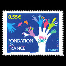 "France 2009 - 40th Anniv of ""Foundation de France"" Art - Sc 3596 MNH"