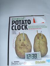 Green Science Potato Clock Kidz Labs 4M Science Project Experiment