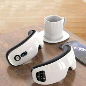 Elektrisches Augenmassagegerät Druck Hitze Kompression Auge Anti-Fatigue BT 2021