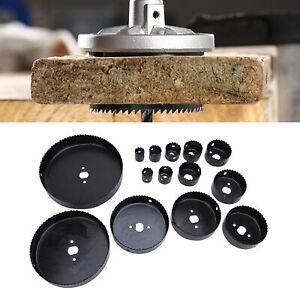 19pcs scie cloche pour travail bois trous ouvreur outils de forage Kit 19-152mm