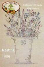 10% Off Crab-apple Hill Embroidery Pattern - Nesting Time