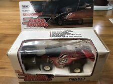 Vintage 1/16 Nikko Turbo Tornado RC Car Complete In Box W Papers Rare red Color