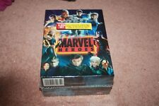 Marvel Heroes Collection (DVD, 2009, 8-Disc Set, Movie Cash) *Brand New Sealed*