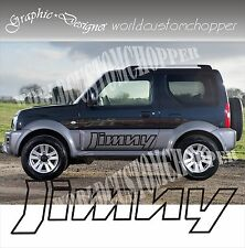 2 ADESIVI DECAL STICKERS SOTTOPORTA FUORISTRADA SUZUKI JIMNY 4X4 OFF ROAD JEEP